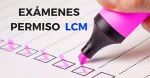 test para la licencia LCM