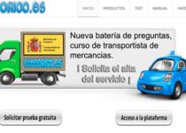 página web parahacer test del examen teórico del coche elteorico.es